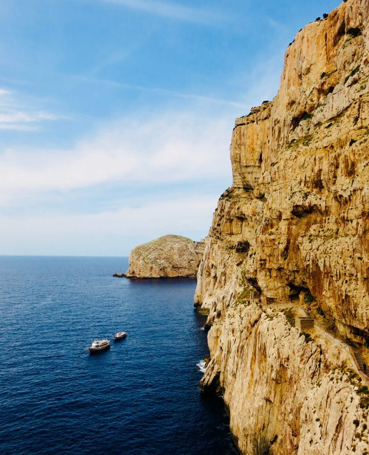 Rocks side Grotto in Northwest Sardinia, Sardinia Travel Blog Inspirations