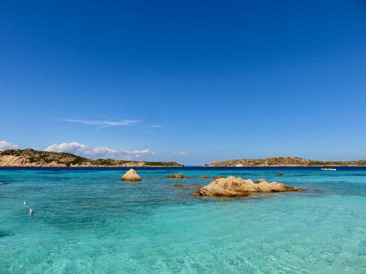 Spiaggia del Cavaliere Maddalena Archipelago in Northeast Sardinia, Sardinia Travel Blog Inspirations