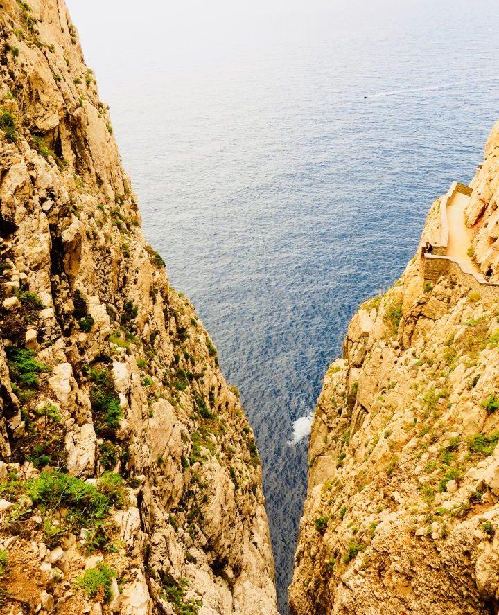 Split Grotto in Northwest Sardinia, Sardinia Travel Blog Inspirations
