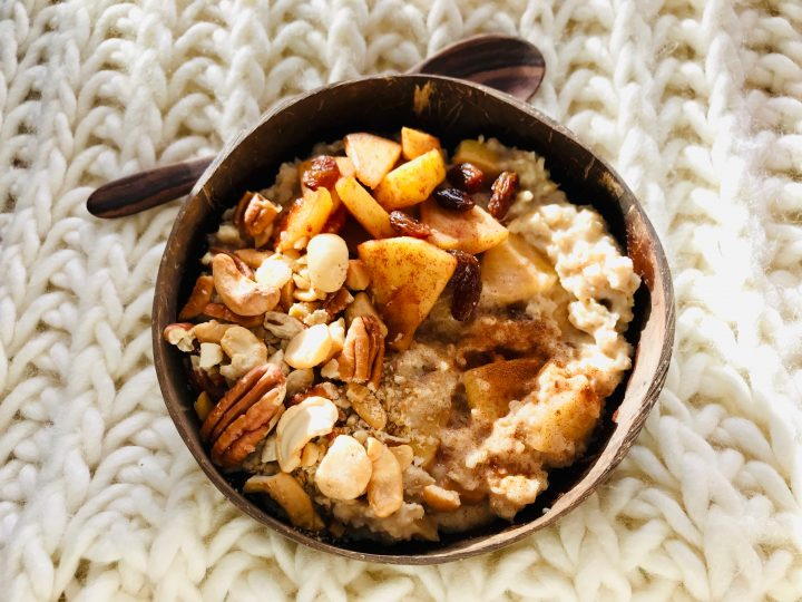 Apple Oatmeal for Breakfast, Food Healthy Food recipes and inspirations Blog