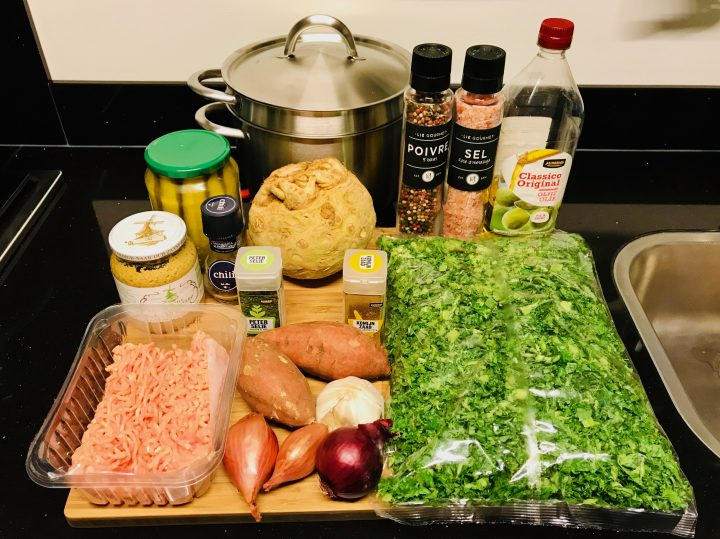 Ingredients for Celeriac Kale Dinner Stew, Food Healthy Food recipes and inspirations blog