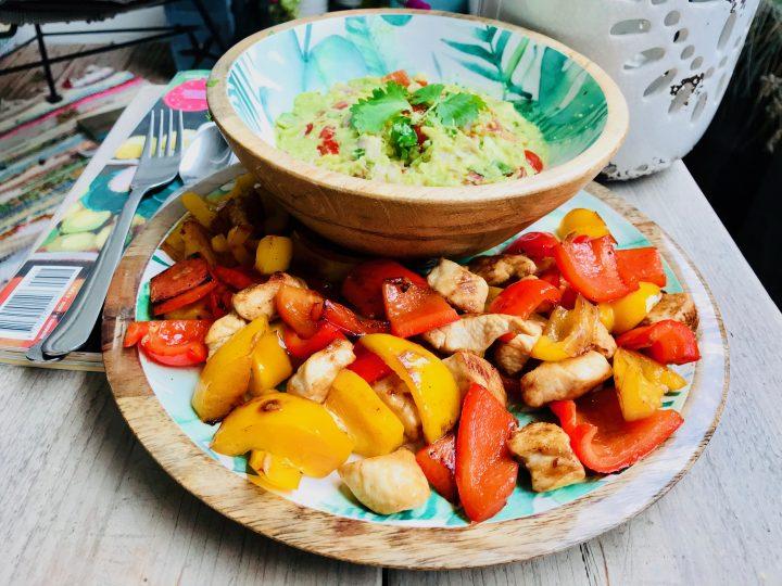 Fajita Guacamole Dinner, Food Healthy Food recipes and inspirations Blog