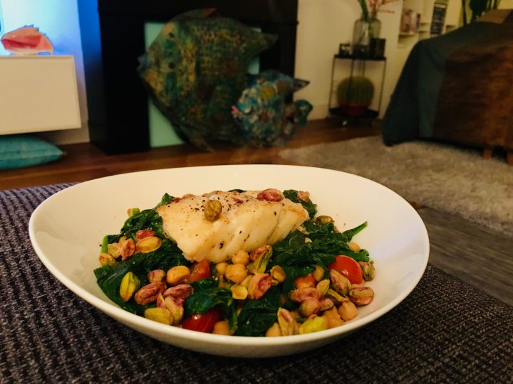 Fast Spinach with fish Dinner, Food Healthy Food recipes and inspirations Blog