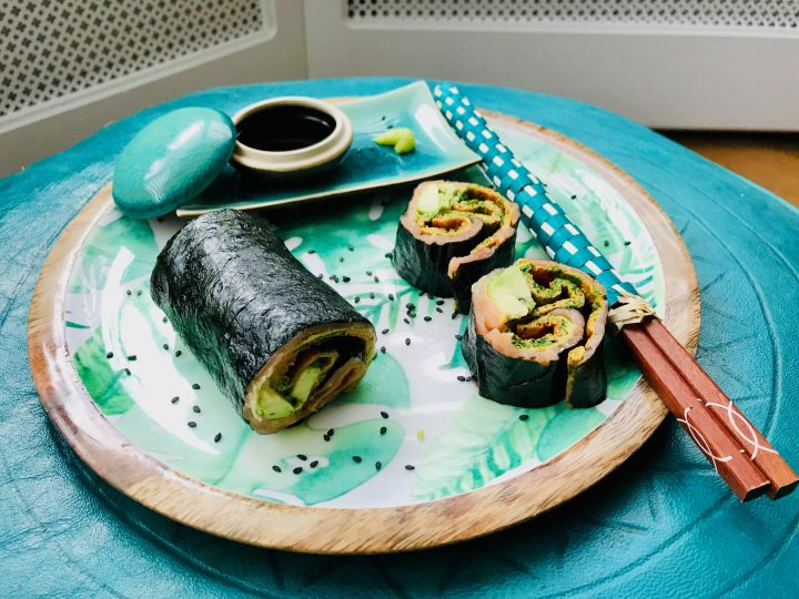 Nori Omelet Wrap Lunch, Food Healthy Food recipes and inspirations blog