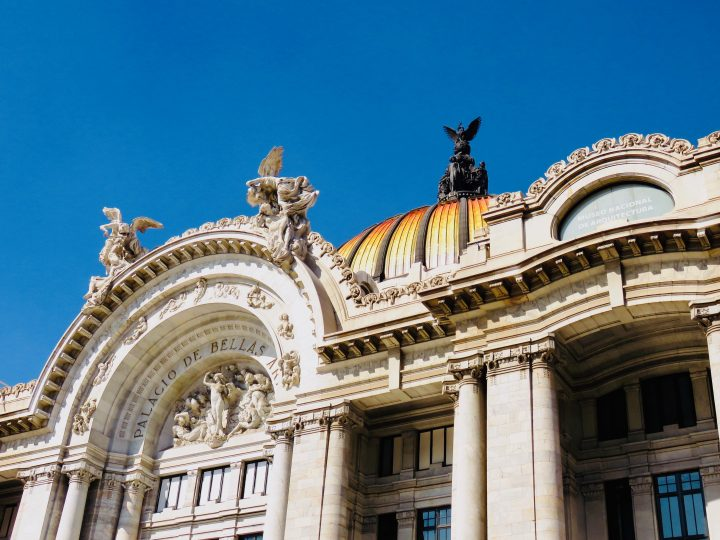 Palacio de Bellas Artes in Mexico City, Mexico Travel Blog Inspirations