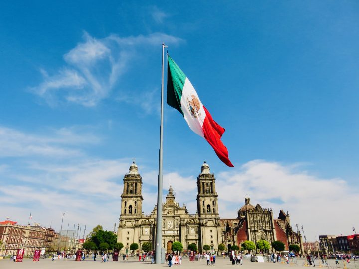 Famous Zocalo square in Mexico City, Mexico Travel Blog Inspirations