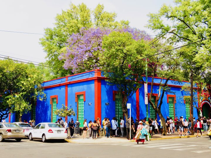House of Frida Kahlo in Mexico City, Mexico Travel Blog Inspirations