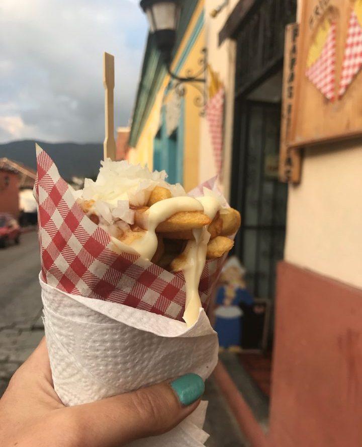 Belgium Fries in San Cristobal de Las Casas Mexico, Mexico Travel Blog Inspirations