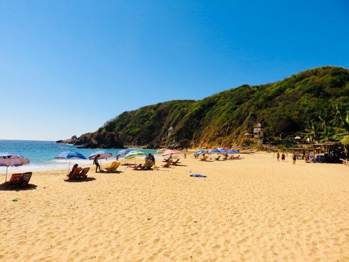 Mazunte Beach near Puerto Escondido Mexico, Mexico Travel Blog Inspirations