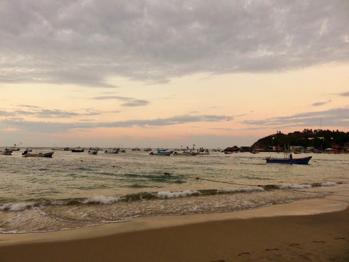 Playa Principal in Puerto Escondido Mexico, Mexico Travel Blog Inspirations