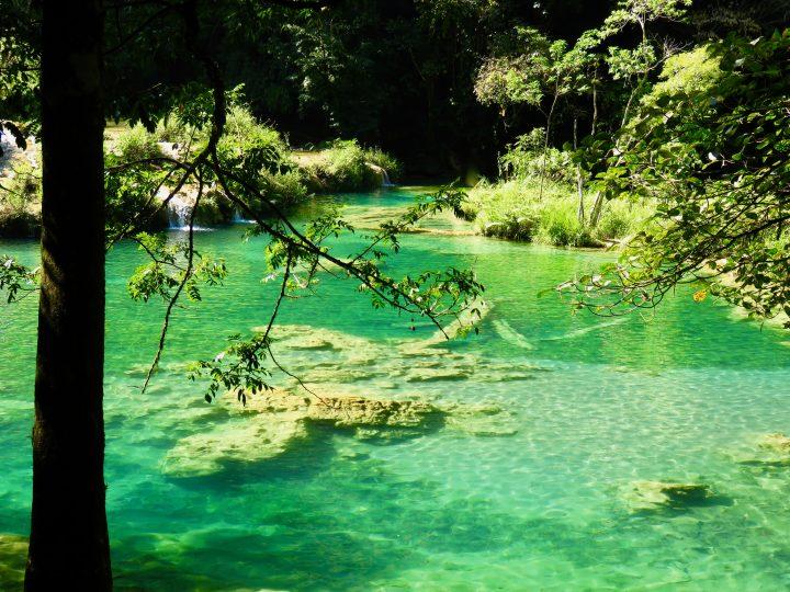 Green pools at Semuc Champey Guatemala, Guatemala Travel Blog