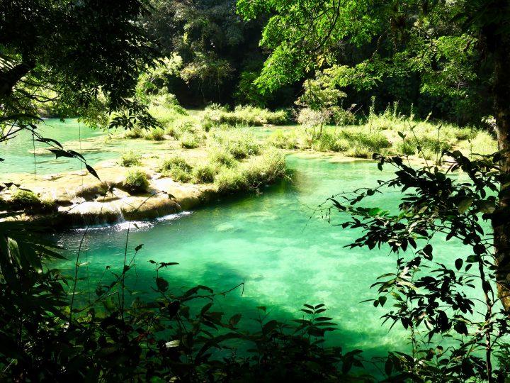 Pools at Semuc Champey Guatemala, Guatemala Travel Blog