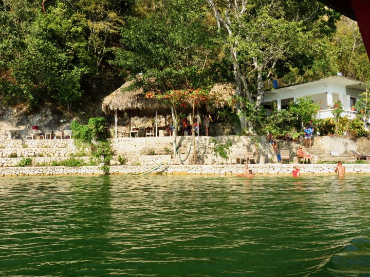 Rope Swing around Flores Guatemala, Guatemala Travel Blog