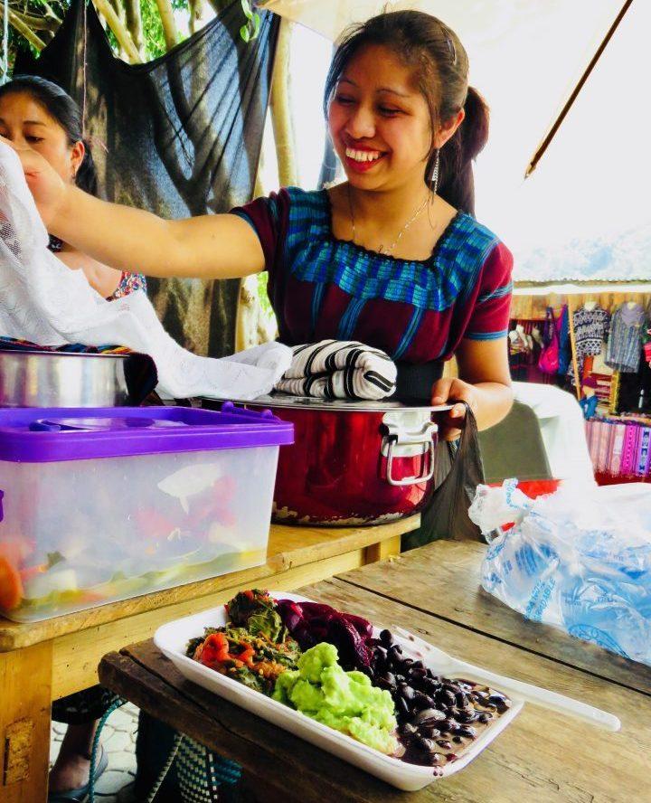 Local food in San Juan in Atitlán Guatemala, Guatemala Travel Blog