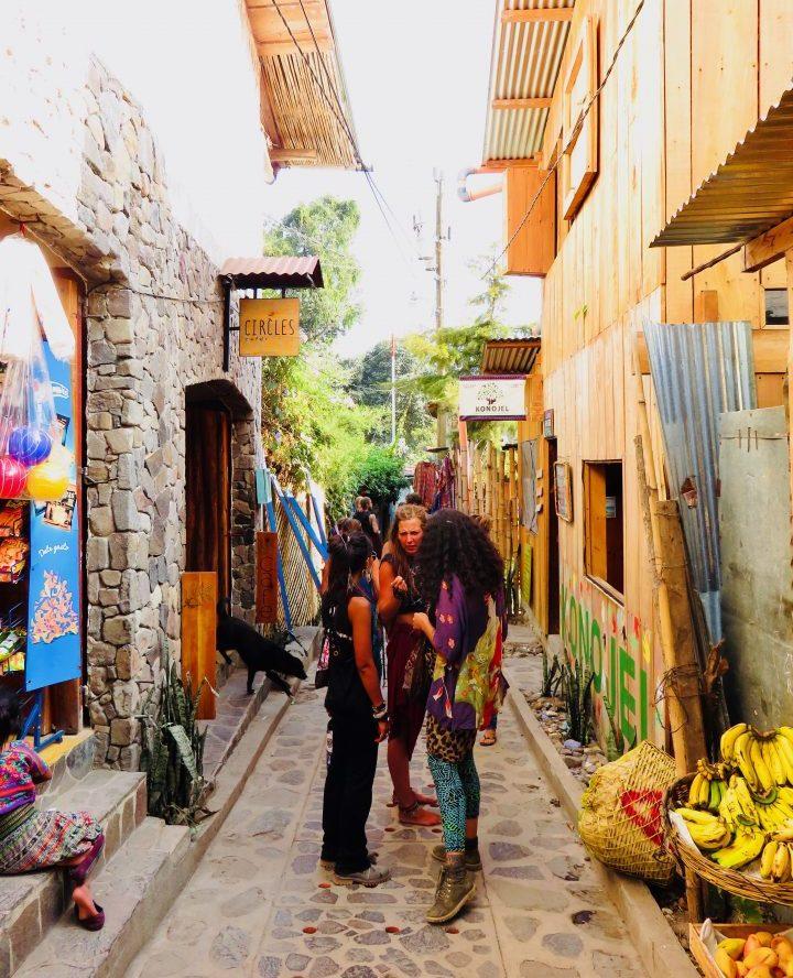 Hippies in San Marcos at lake Atitlán Guatemala, Guatemala Travel Blog