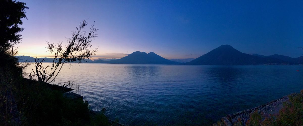 Sunrise over Lake Atitlán Guatemala, Guatemala Travel Blog