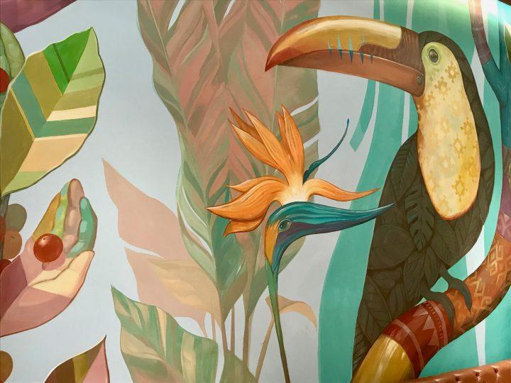 The Starbucks painting in San Cristobal de Las Casas Mexico, Mexico Travel Blog Inspirations