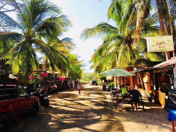 Main street in La Punta Puerto Escondido Mexico, Mexico Travel Blog Inspirations