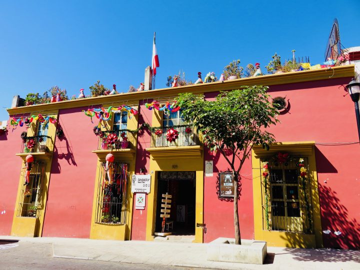 Colorful streets of Oaxaca Mexico, Mexico Travel Blog Inspirations
