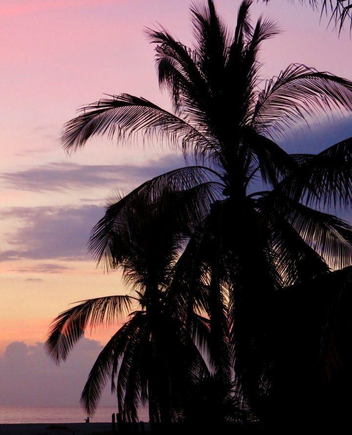 Sunset at Playa Zicatela Puerto Escondido Mexico, Mexico Travel Blog Inspirations