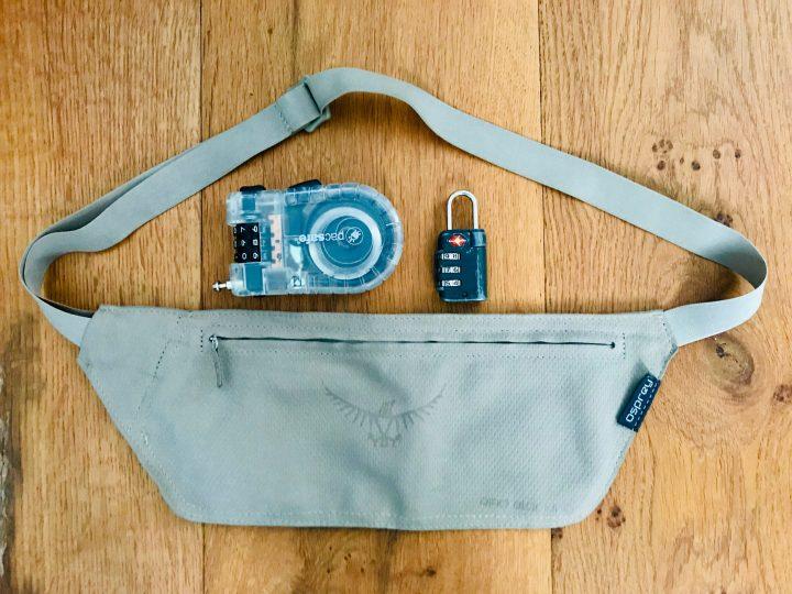 Money Belt and locks Safe Travels; Travel Tips and Inspirations Blog