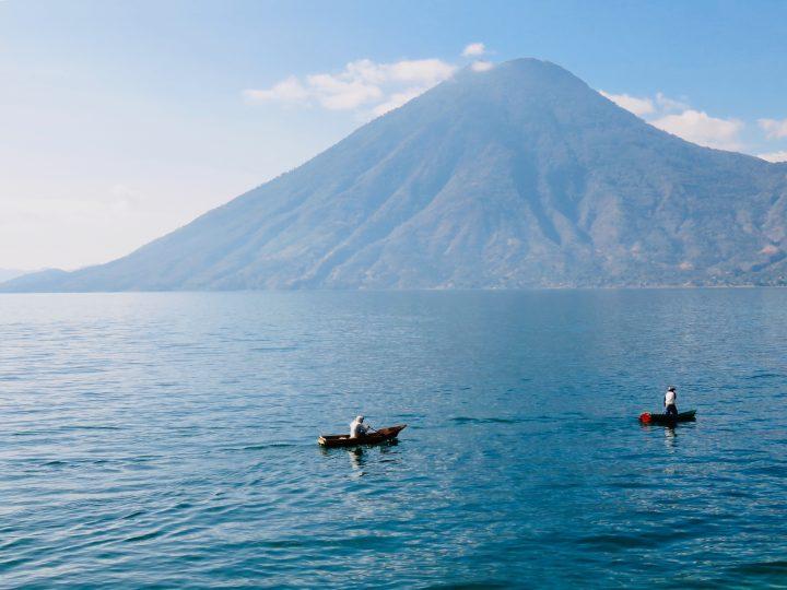 View over lake Atitlán in Guatemala, Guatemala Travel Blog