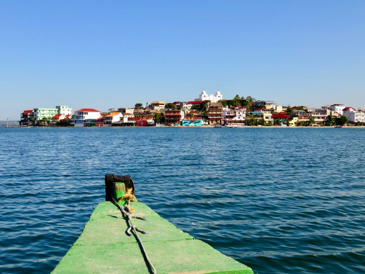 Views from boat of Flores Guatemala, Guatemala Travel Blog