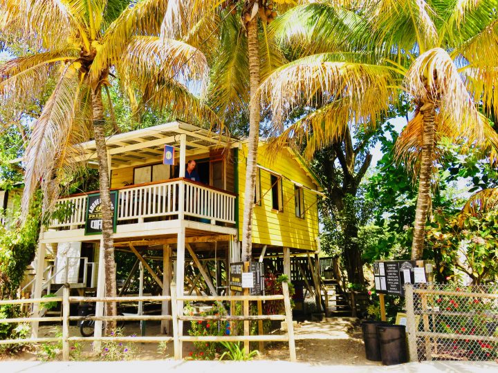 Coffee at Above Grounds Restaurant in Placencia Belize, Belize Travel Blog