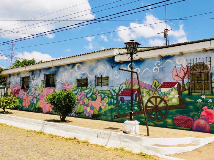 Wall paintings in Ataco on the Ruta de las Flores El Salvador, El Salvador Travel Blog