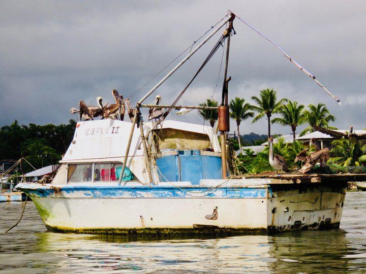 Fisher boat in Lívingston Guatemala, Guatemala Travel Blog