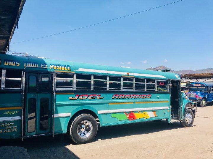 Transport via buses to and from Ruta de las Flores El Salvador, El Salvador Travel Blog