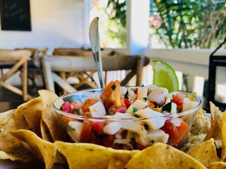 Conch Ceviche at Rumfish and Vino Restaurant in Placencia Belize, Belize Travel Blog
