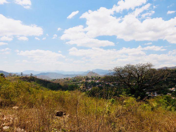 View over the hills of Copán Ruinas Honduras, Honduras Travel Blog