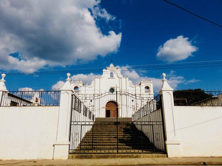 White Iglesia in Apaneca on the Ruta de las Flores El Salvador, El Salvador Travel Blog