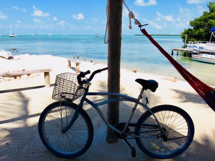 Cycling to Iguana Beach on Caye Caulker Belize, Belize Travel Blog