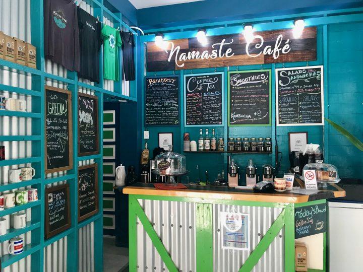 Breakfast and Yoga at restaurant Namaste on Caye Caulker Belize, Belize Travel Blog