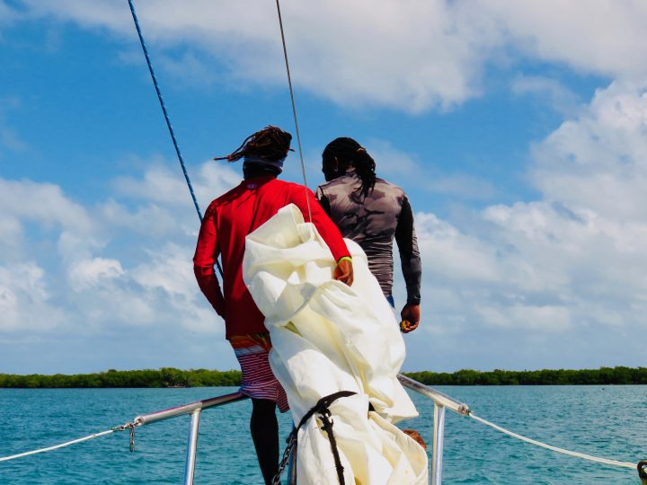 Rasta guides during Sailing tour Raggamuffin Belize, Belize Travel Blog