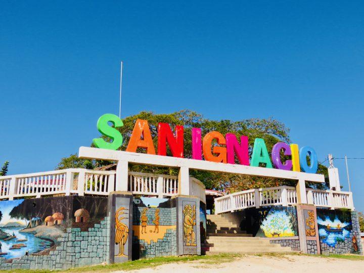 San Ingnacio Sign in town of San Ingnacio Belize, Belize Travel Blog