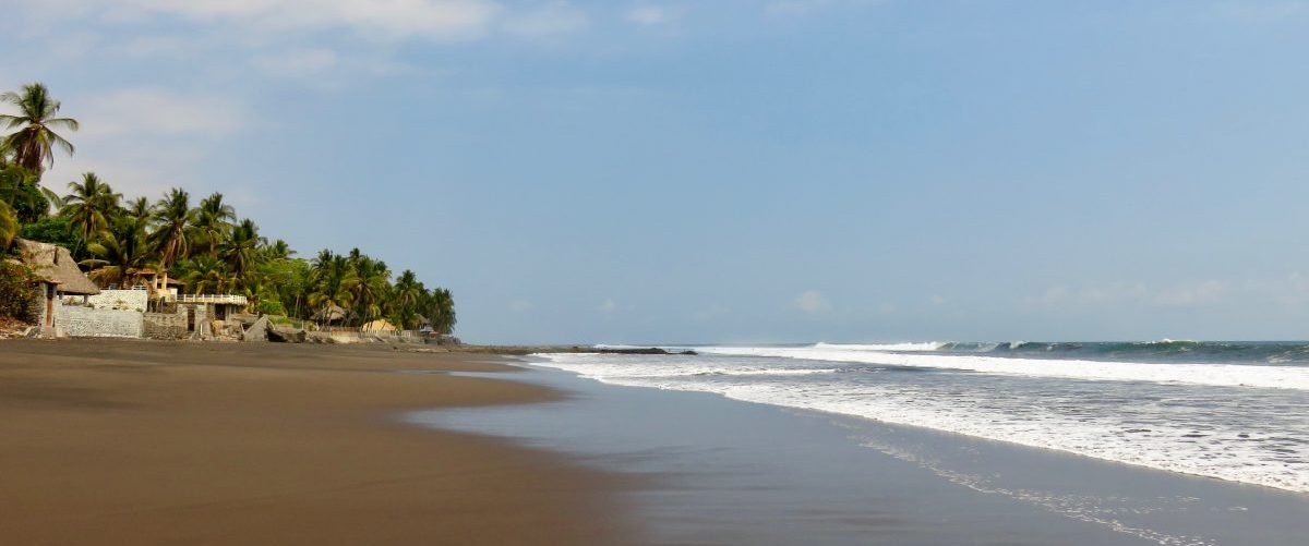 Surfing black beaches in El Salvador, El Salvador Travel Blog