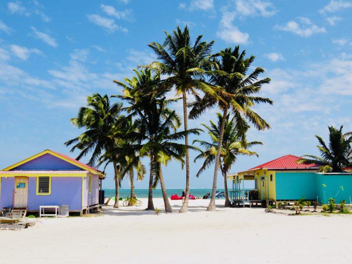 The Split view on Caye Caulker Belize, Belize Travel Blog