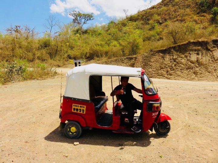 Tuc Tuc to the Archaeological site Copán Ruinas Honduras, Honduras Travel Blog