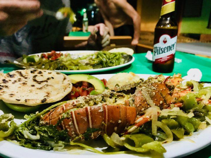 Restaurant and grill Al Carbón in El Tunco El Salvador, El Salvador Travel Blog