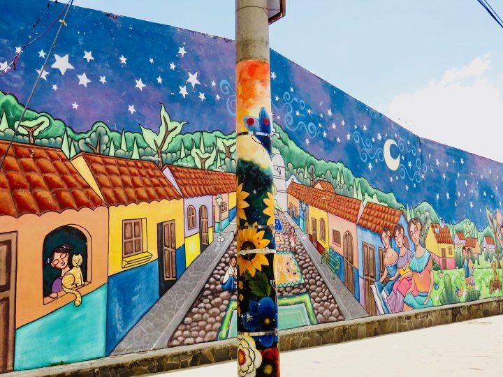 Wall paintings in Ataco El Salvador, El Salvador Travel Blog