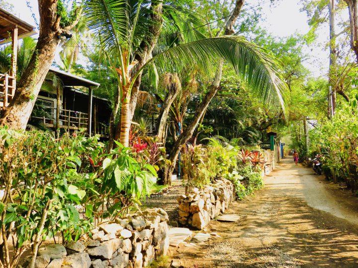 Shortcut to surf beach in El Tunco El Salvador, El Salvador Travel Blog