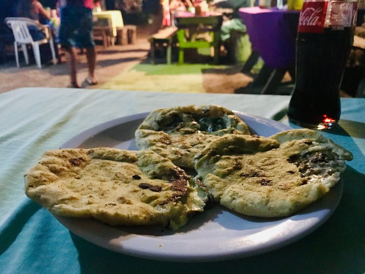Local food: Pupusas in El Zonte El Salvador, El Salvador Travel Blog