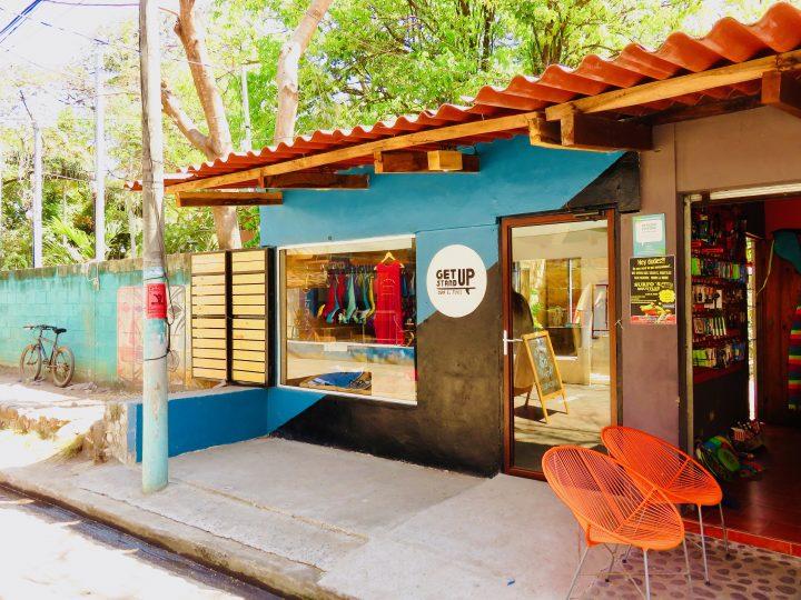 Surf Shop Get Stand Up in El Tunco El Salvador, El Salvador Travel Blog