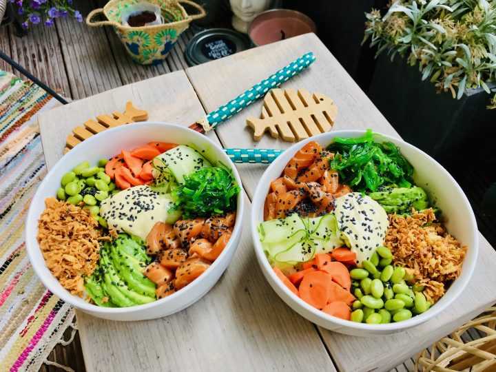 Poke Bowl with Salmon Food Healthy Food recipes and inspirations
