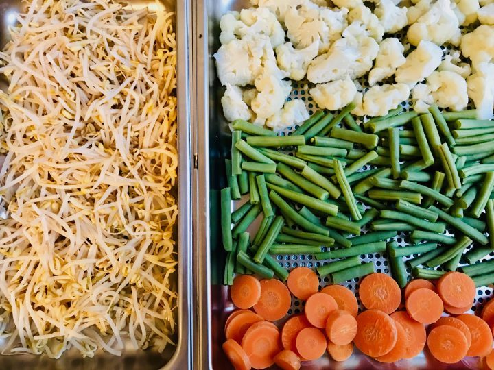 Vegetables to use for the homemade Gado Gado Food Healthy Food recipes and inspirations