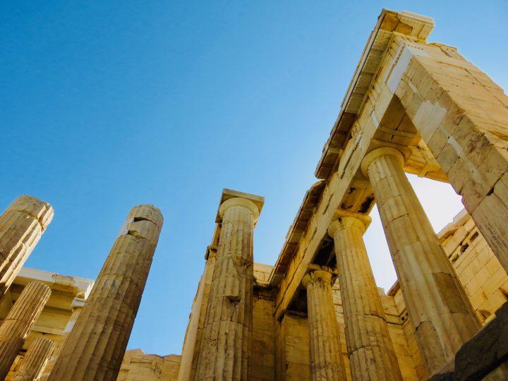 Acropolis Athens Greece, Greek Cyclades Travel Blog