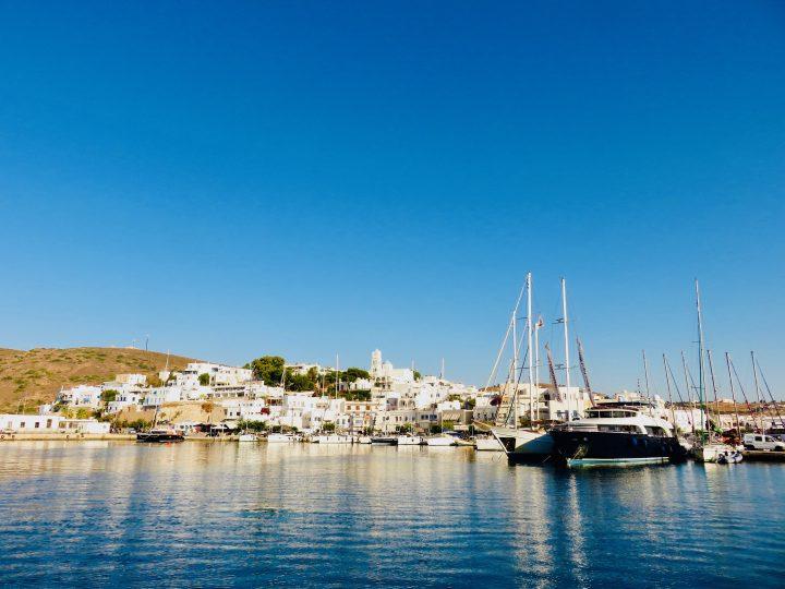 Town of Adamas Milos Greece, Greek Cyclades Travel Blog